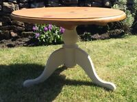 Solid pine coffee/occasional table