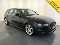 2014 AUDI A4 S LINE TDI ESTATE DIESEL 1 OWNER SERVICE HISTORY FINANCE PX WELCOME