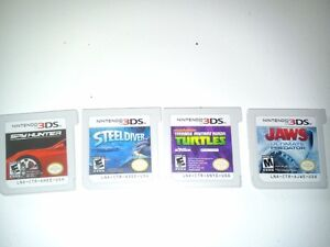 4 (3DS NINTENDO GAMES) AND 3 (2DS NINTENDO GAMES)