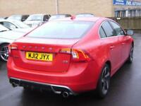 2012 Volvo S60 D5 [215] R DESIGN 4dr Geartronic 4 door Saloon
