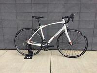 Vélo de route WSDTrek Silque S blanc rouge 54cm 2015 shimano 105