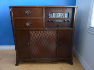 RADIO ANTIQUE STEWART-WARNER 1961 ***LIVRÉ CHEZ VOUS***