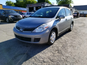 2008 NISSAN VERSA S SAFETY AND E-TESTED