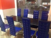 22 Granite tables and 25 chairs
