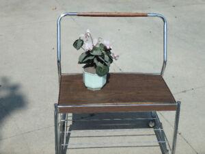 genuine 1960s TV trolley