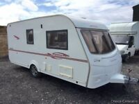 2007 Coachman Pastiche 460/2 2 berth caravan AWNING, Light To Tow, VGC BARGAIN !
