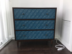 Three-Drawer Dresser
