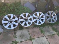 Mercedes e class / S class alloy wheels 2008/09