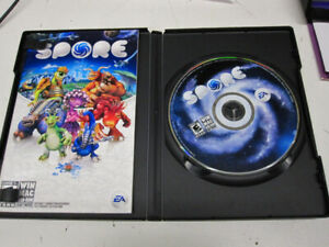 Used Spore Game DVD For Windows/MAC-OS