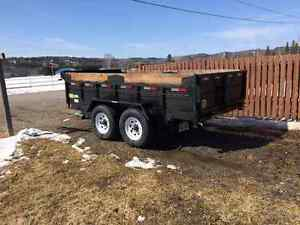 2011  JDJ Heavy Duty Dump Tandem 12000 Trailer
