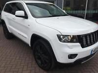2013 Jeep Grand Cherokee 3.0 CRD S Limited 5dr Auto Diesel white Automatic