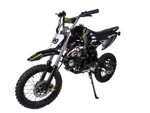 ***NEW FOR 2017** 125CC DIRTBIKE 4 SPEED MANUAL!! NEW UNITS