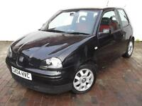 SEAT AROSA 'S', 1.4 Litre, MAY 2017 MOT, ALLOY WHEELS, METALLIC BLACK
