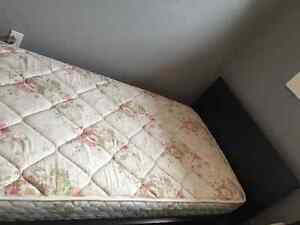 Single Matress and bed frame