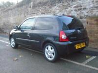 2008 08 RENAULT CLIO 1.1 CAMPUS 8V 3D 58 BHP - VERY CHEAP LITTLE RUNAROUND IDEAL