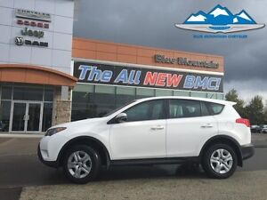 2015 Toyota Rav4 AWD LE  ACCIDENT FREE, AWD, BLUETOOTH/MP3