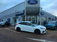 Ford Focus RS 2.3 AWD £3705 OFF LIST Frozen white