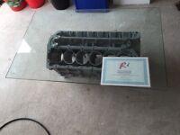 Top Gear Jaguar V12 engine coffee table no 2
