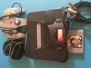 N64 with game