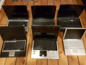 6 Laptops (LOT SALE) *Read the Ad below for Details