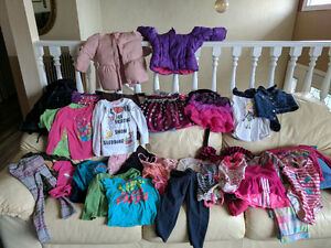 Girls toys clothes shoes