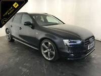 2014 AUDI A4 S LINE BLACK EDITION TDI ESTATE 1 OWNER SERVICE HISTORY FINANCE PX