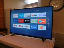 TOSHIBA 58 INCH SMART 4K UHD HDR LED TV - VERTICAL LINE ON SCREEN