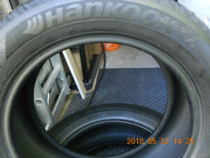 2-TIRES-205-55R-16-  4 SEASON- HANKOOK  TIRES