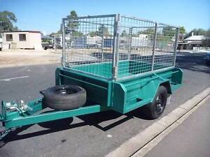 7X4 FULL BODY CAGED TRAILER Adelaide CBD Adelaide City Preview