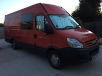 Iveco daily xlwb motocross track day camper caravan
