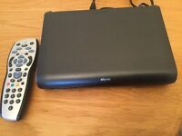Sky HD box with remote mini version ideal caravan or campers