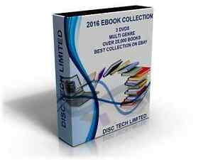 2016 Ebook Collection Over 25,000 Titles Kindle Mobi 3 Dvd's Fast Dispatch