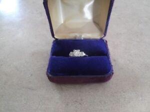 bague à diamants