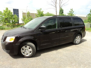 2010 DODGE GRAND CARAVAN SE STOW N GO REAR AIR CERTIFIED E TEST