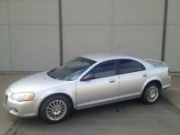 2005 CHRYSLER SEBRING WITH ONLY 75,000 KMS!!!