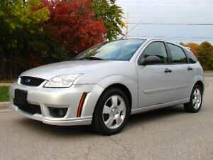 2007 Ford Focus Hatchback, One Owner Vehicle, Only 67000Km!!