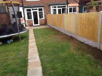 10 bays of fence £675 supply and fit **special offer fencing**