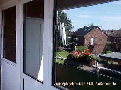 6,57€/m² Spiegelfolie Fensterfolie UV Sonnenschutz Sichtschutz Spionfolie !!!!