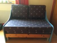 Stompa two seater sofa bed