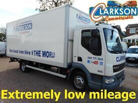 2011 61 Daf 7.5ton box van & new taillift