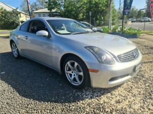2003 Nissan Skyline V35 350GT Silver Continuous Variable Coupe South Lismore Lismore Area Preview