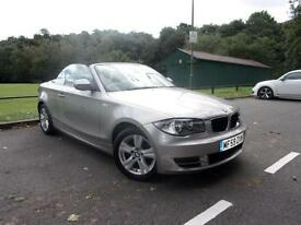 2009 BMW 1 SERIES 118I SE CONVERTIBLE PETROL