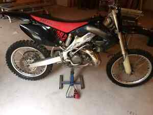 MUST SELL For sale or trade 2002 Cr 250