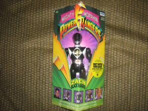 MIGHTY MORPHIN POWER RANGERS BLACK RANGER 8 INCH FIGURE