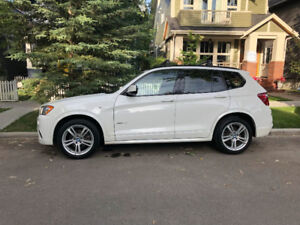 2012 BMW X3 M-sport for sale