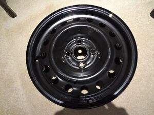 Hyundai Accent / Kia Rio steel rims for winter snows all seasons