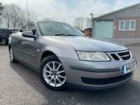2005 Saab 9 3 1.8t Linear Convertible 2d 1998cc auto Convertible Petrol Automati