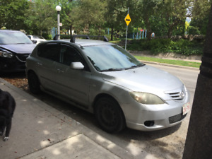 2005 Mazda 3 Hatchback; 5 Speed manual; Rebuilt engine