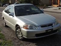 1996 Honda Civic E X Coupe (2 door)