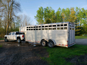 2011 4-Star Stock Trailer, Like New!!!Reduced From $20,000